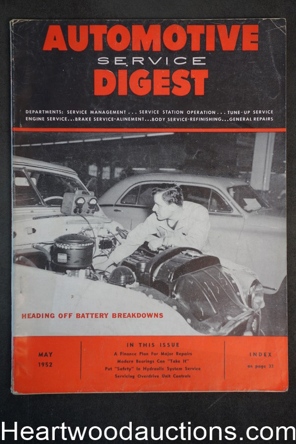 Automotive Digest May 1952