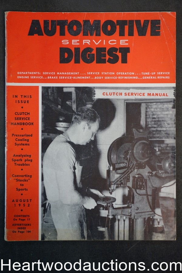 Automotive Digest Aug 1952