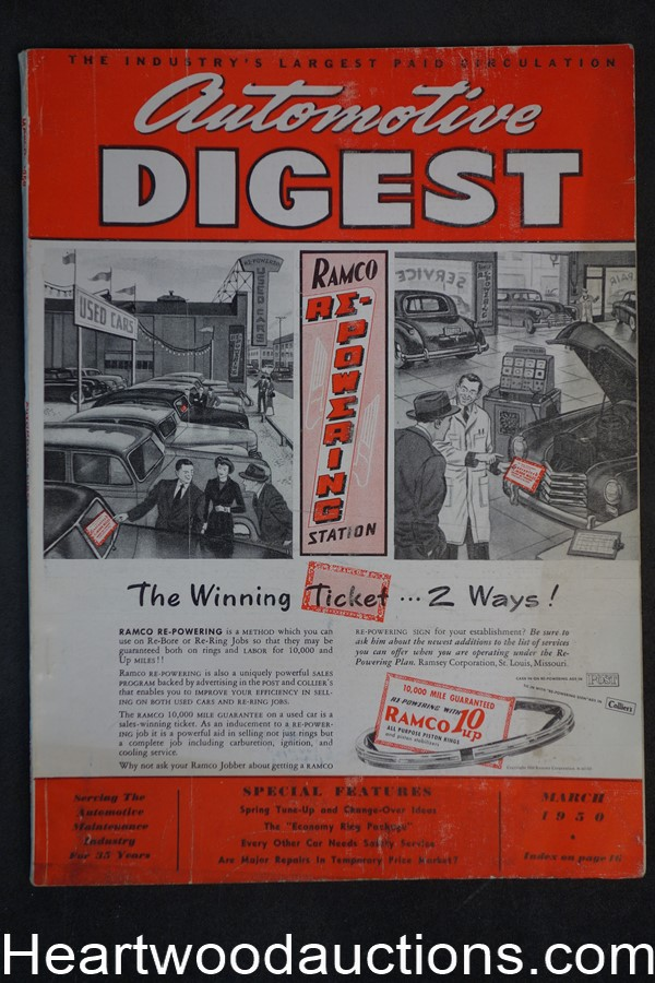 Automotive Digest Mar 1950