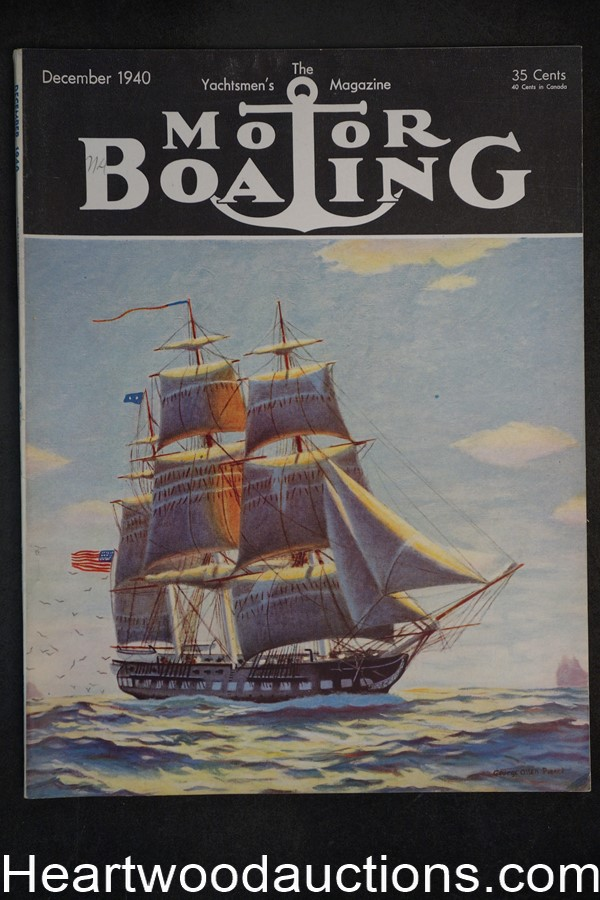 Motorboating Dec 1940 - High Grade