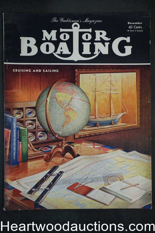 Motorboating Dec 1951 - High Grade