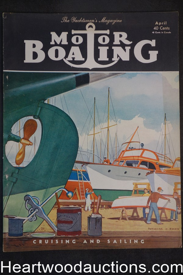 Motorboating Apr 1952 - High Grade