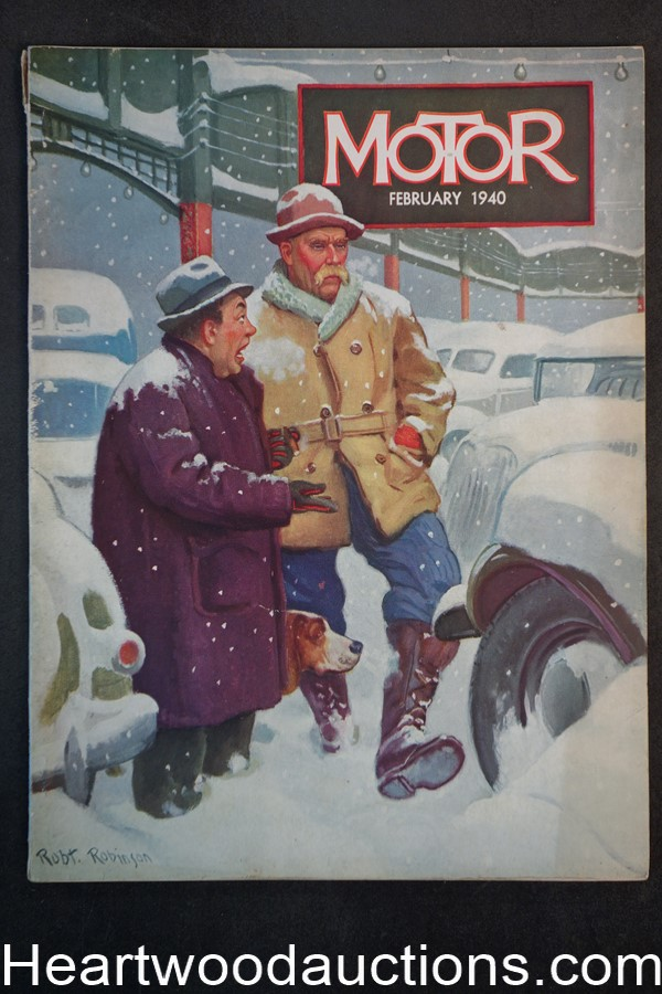 Motor Feb 1940 Robert Robinson cover