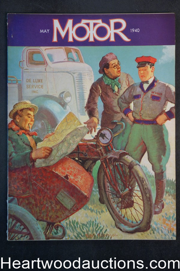 Motor May 1940 Robert Robinson - High Grade