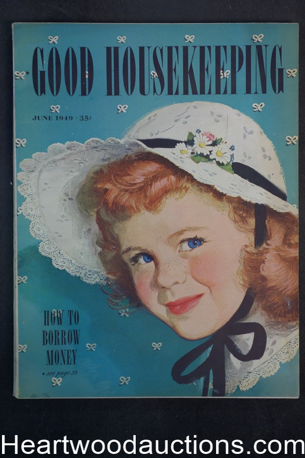 Good Housekeeping Jun 1949 - High Grade