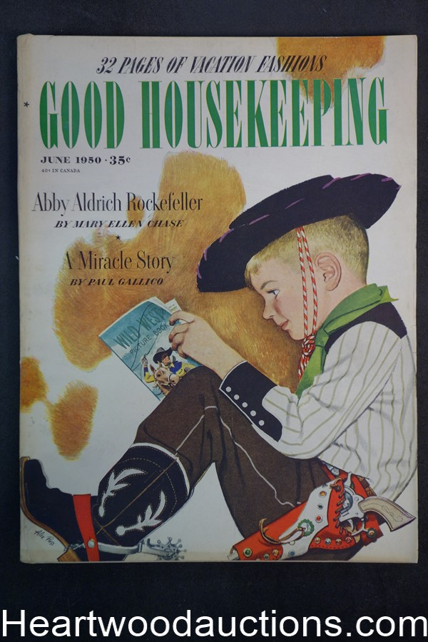 Good Housekeeping Jun 1950 cvr Alex Ross - High Grade