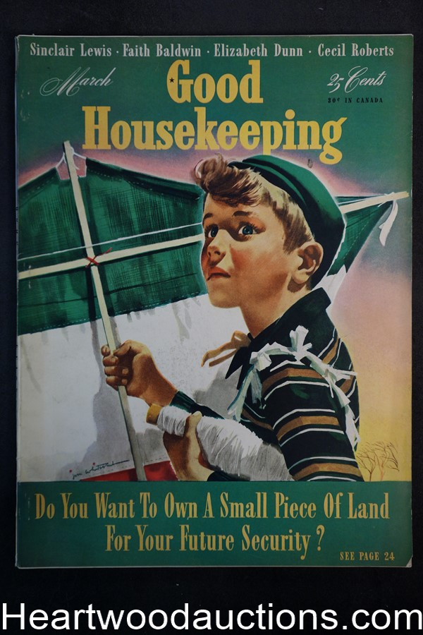 Good Housekeeping Mar 1941 Cvr Jon Whitcomb