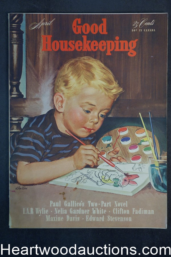 Good Housekeeping Apr 1943 Cvr Alex Ross
