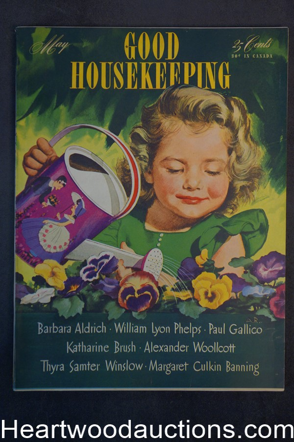 Good Housekeeping May 1943 Cvr Alex Ross - High Grade