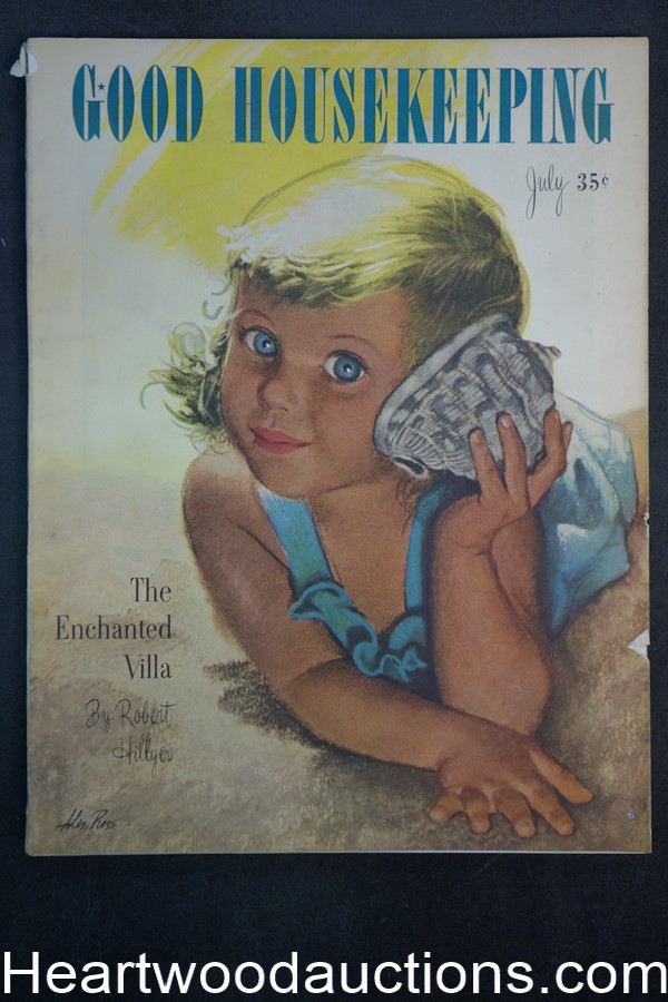 Good Housekeeping Jul 1946 Cvr Alex Ross