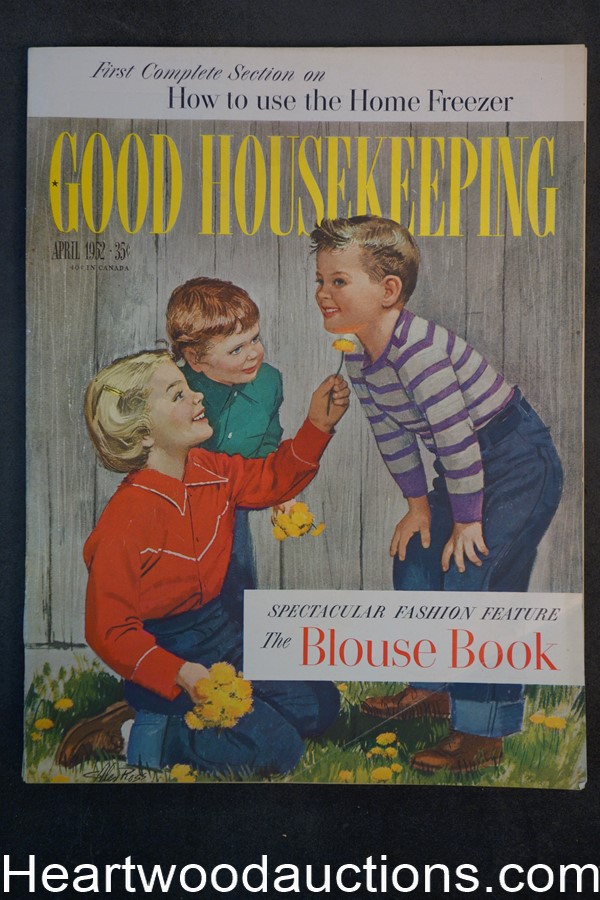 Good Housekeeping Apr 1952 Cvr Alex Ross