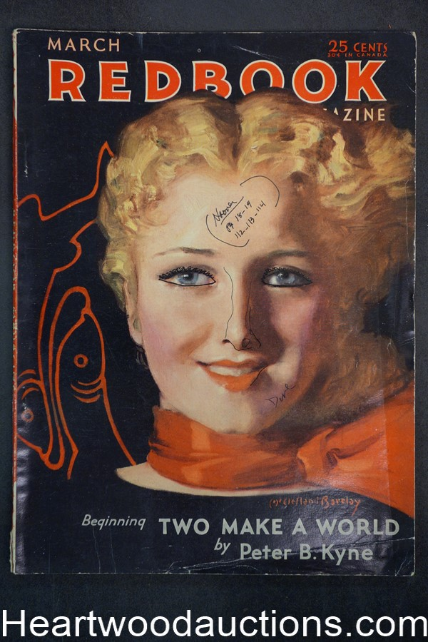 Redbook Mar 1932 McClelland Barclay cover
