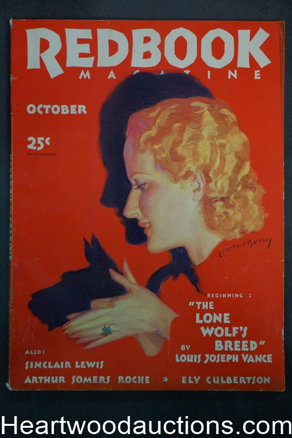 Redbook Oct 1932 McClelland Barclay Cover