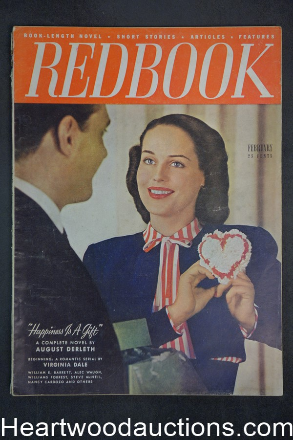Redbook Feb 1948  August Dereleth