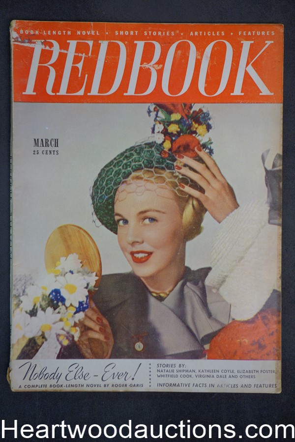 Redbook Mar 1948  Virginia Dale, Elizabeth Foster