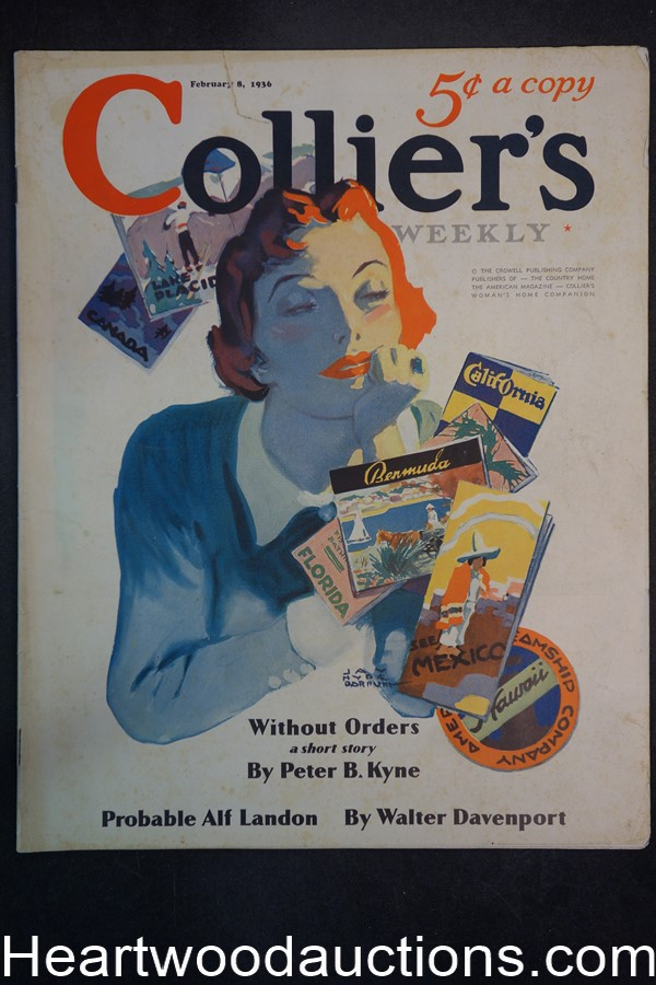 Collier's Feb 8, 1936 Max Brand short-short story