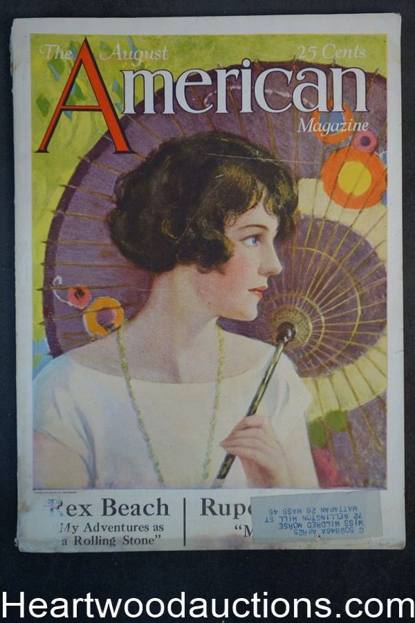 American Aug 1924 Charles Anderson cover
