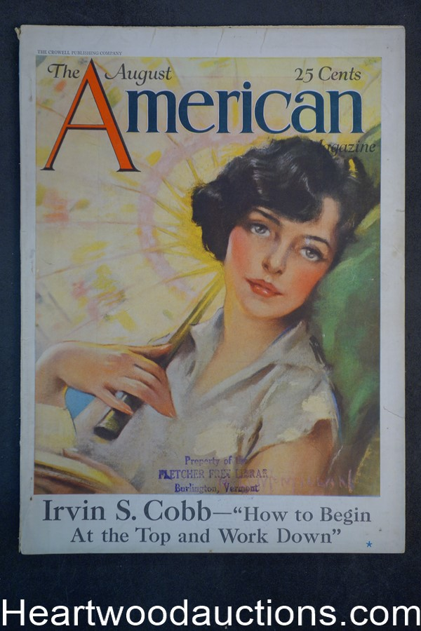 American Aug 1925 McMillan cover