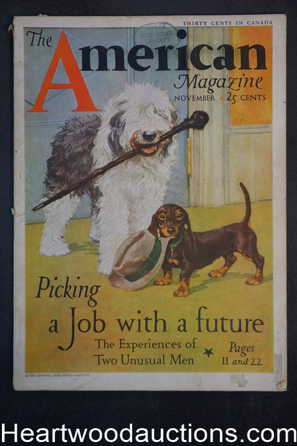 American Nov 1932 Diana Thorne cover