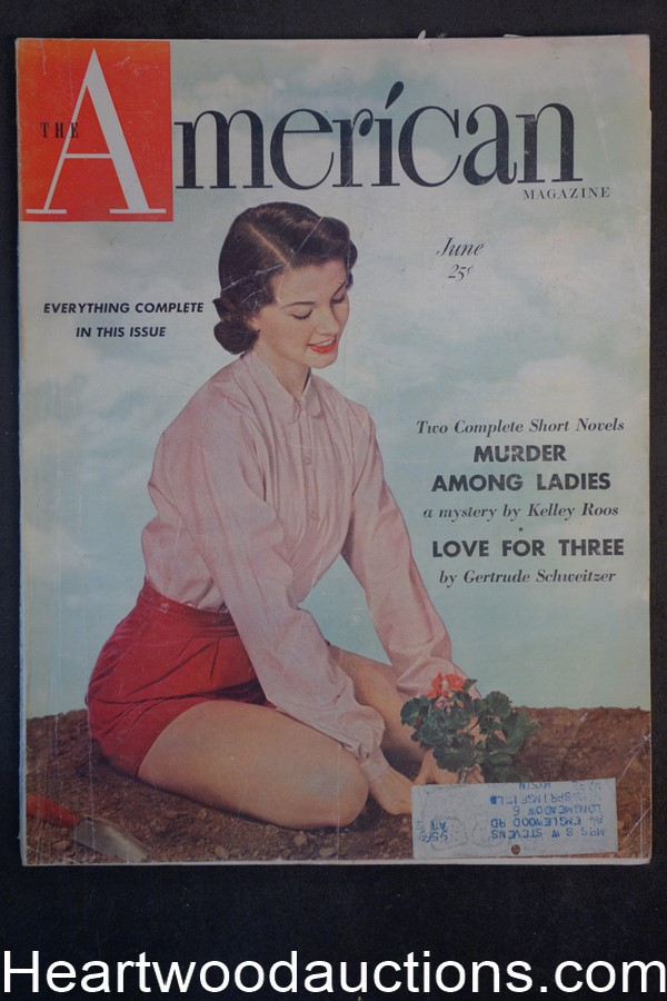American Jun 1950 William Ritter cover photo
