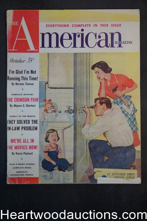 American Oct 1952 Eddie Chan cover