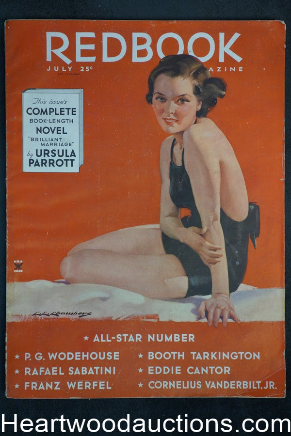 Redbook Jul 1935 George F. Worts, Charles E. Chambers cover