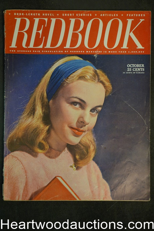 Redbook Oct 1945 Alice Lent Covert, William E. Barrett