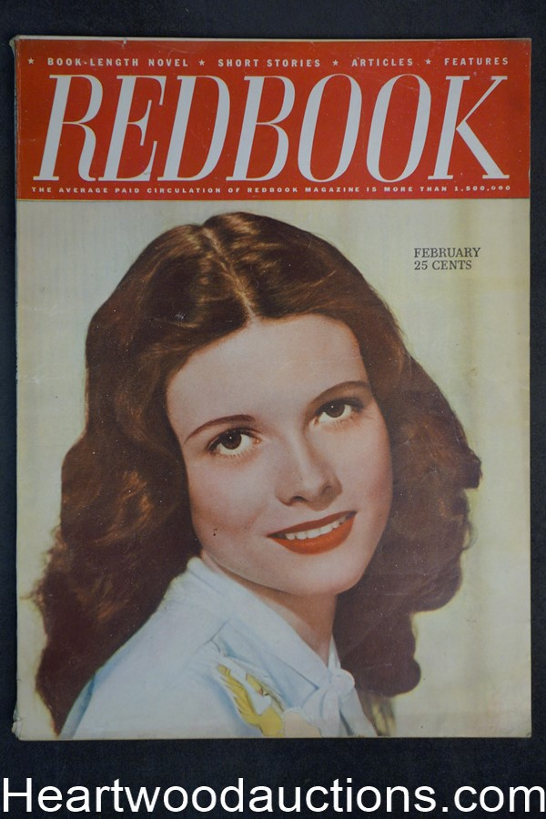 Redbook Feb 1946 Peter Paul O'Mara, Ursula Parrott