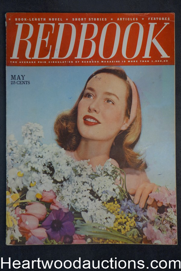 Redbook May 1946 Rose Franken, Franz Hoellering, Rita Hayworth
