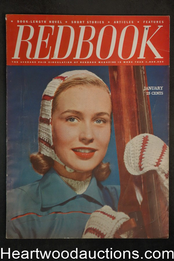 Redbook Jan 1947  Ursula Parrott, Peter Paul O'Mara