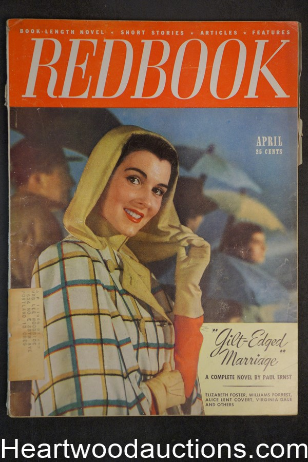 Redbook Apr 1948 Virginia Dale, Paul Ernst