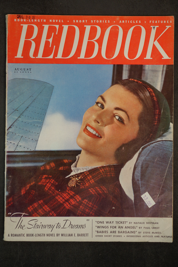 Redbook Aug 1948 William E. Barret, Peter Paul O'Mara