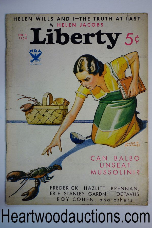 Liberty Feb 3, 1934 Earl Stanley Gardner Perry Mason story