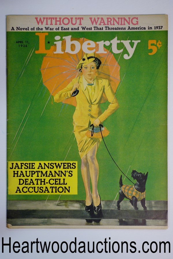 Liberty Apr 11, 1936 Cover produced by George Larkin-MacFadden Studio