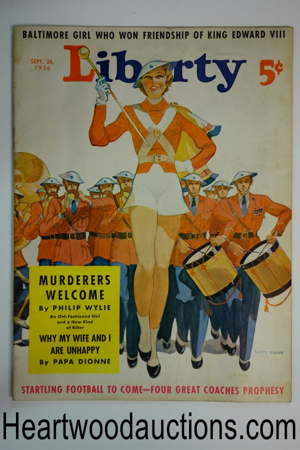Liberty Sep 26, 1936 Scott Evans cover, Philip Wylie