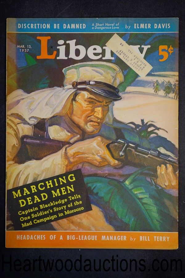 Liberty Mar 13, 1937 Rita Weiman, Scott Littleton, Elmer Davis