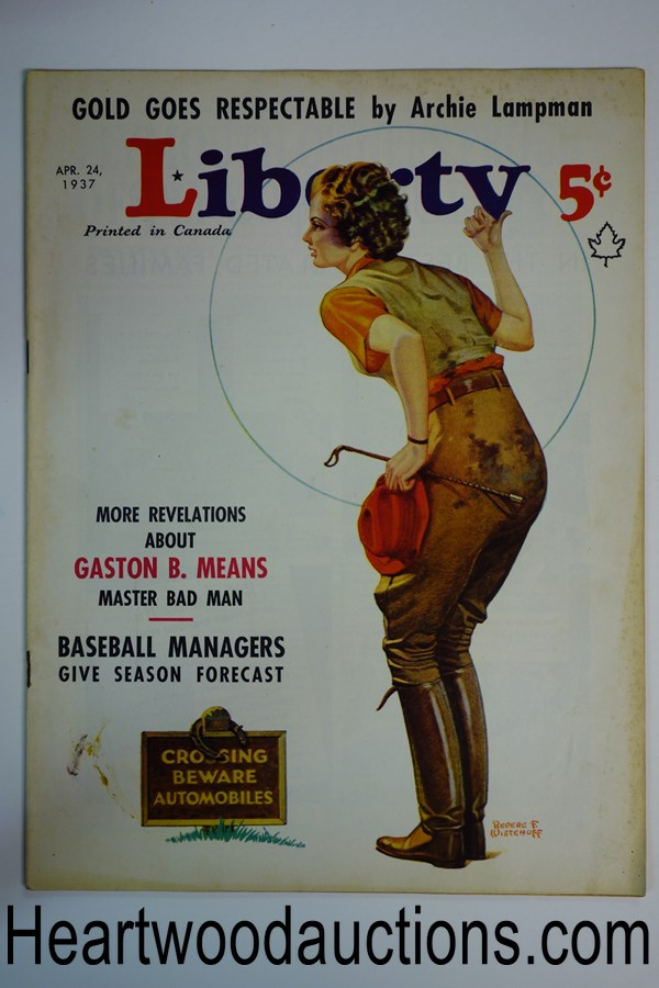 Liberty Apr 24, 1937 Revere F. Wistehoff cover