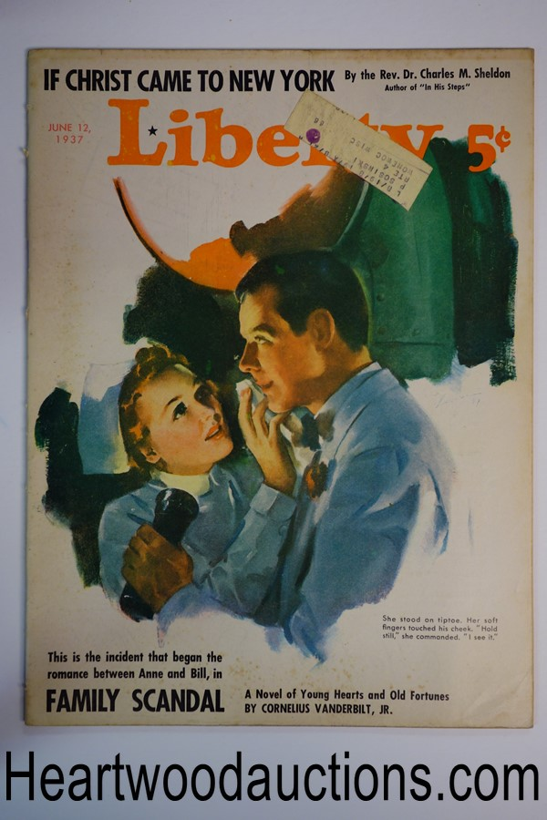 Liberty Jun 12, 1937 James Lewis cover