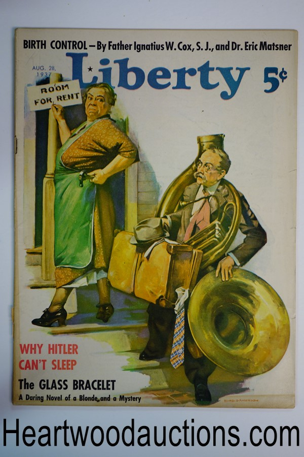 Liberty Aug 28, 1937 Harold Anderson cover, Arch Whitehouse
