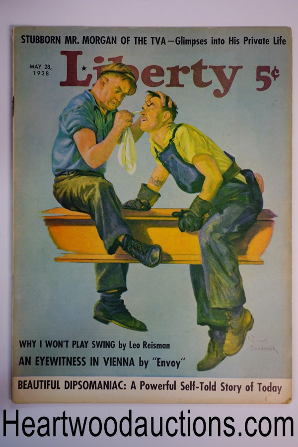 Liberty May 28, 1938 Russell Sambrook cover