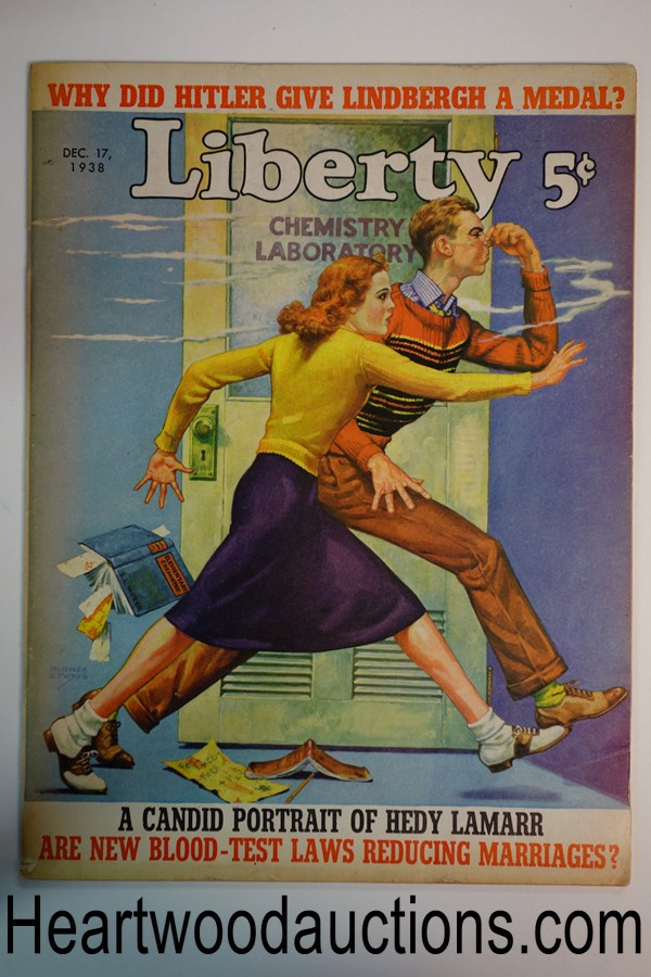 Liberty Dec 17, 1938 Monte Crews cover