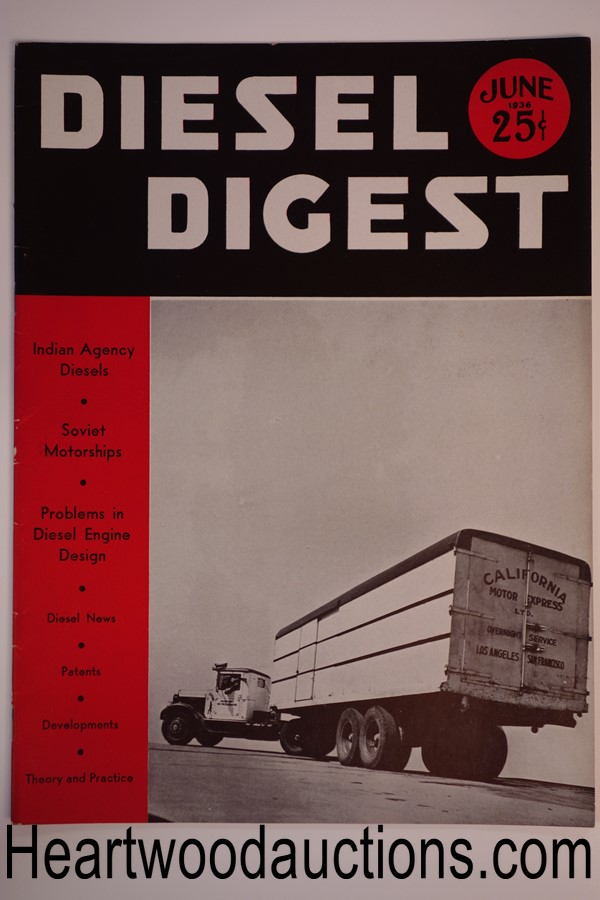 Diesel Digest Jun 1936 - High Grade