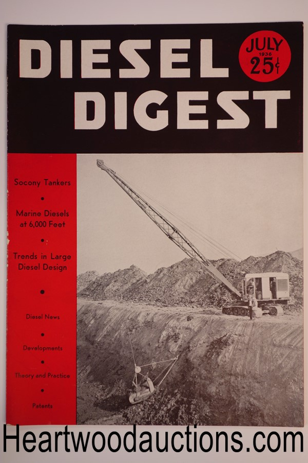 Diesel Digest Jul 1936 - High Grade
