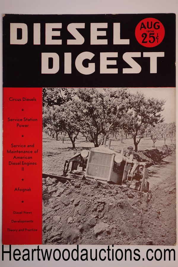 Diesel Digest Aug 1936 - High Grade