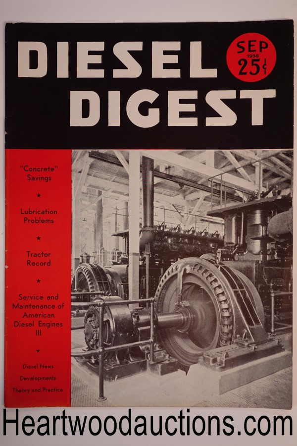 Diesel Digest Sep 1936 - High Grade