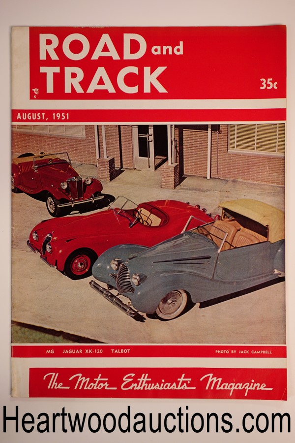 Road and Tack Aug 1951