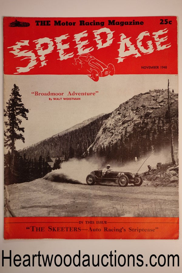 Speed Age Nov 1948