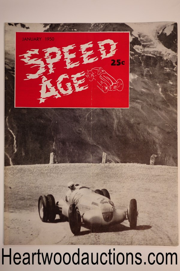 Speed Age Jan 1950