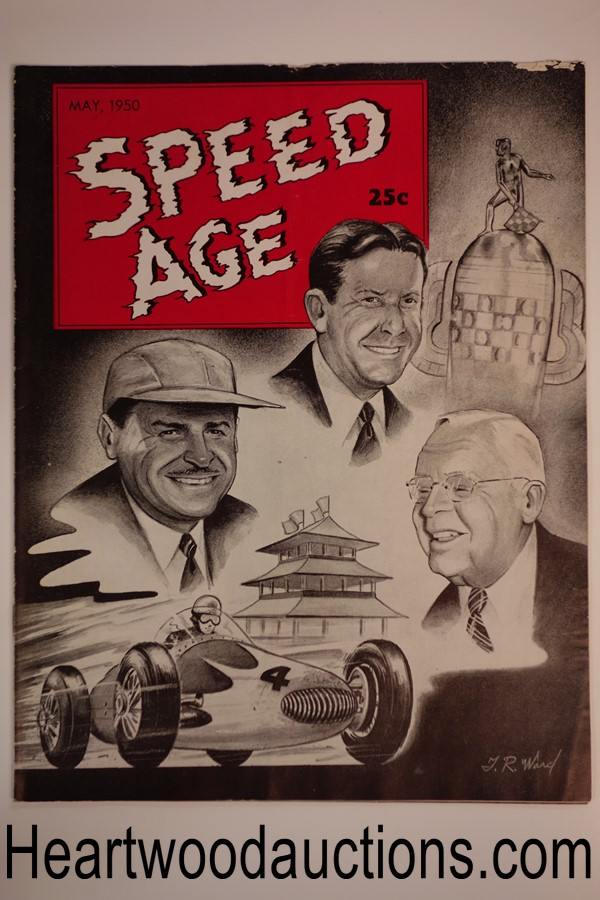 Speed Age May 1950 Tom Ward