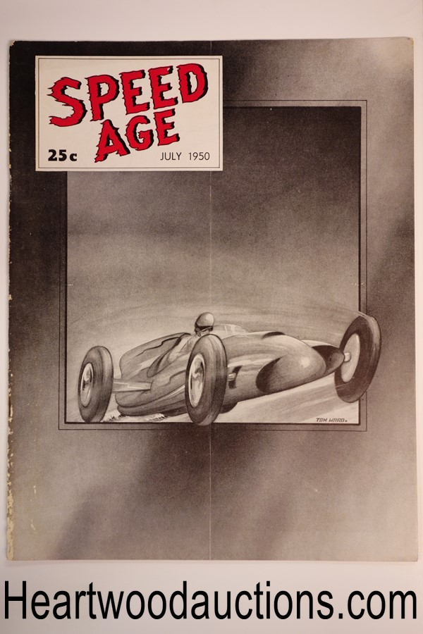 Speed Age Jul 1950 Tom Ward